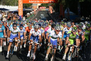 Tour Down Under - Adelaide.